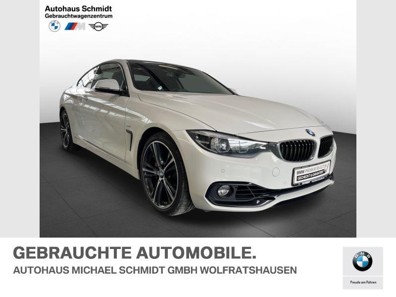 BMW 440i Sport Line*Kamera*Navi Prof*Memory*, Jahr 2018, Benzin
