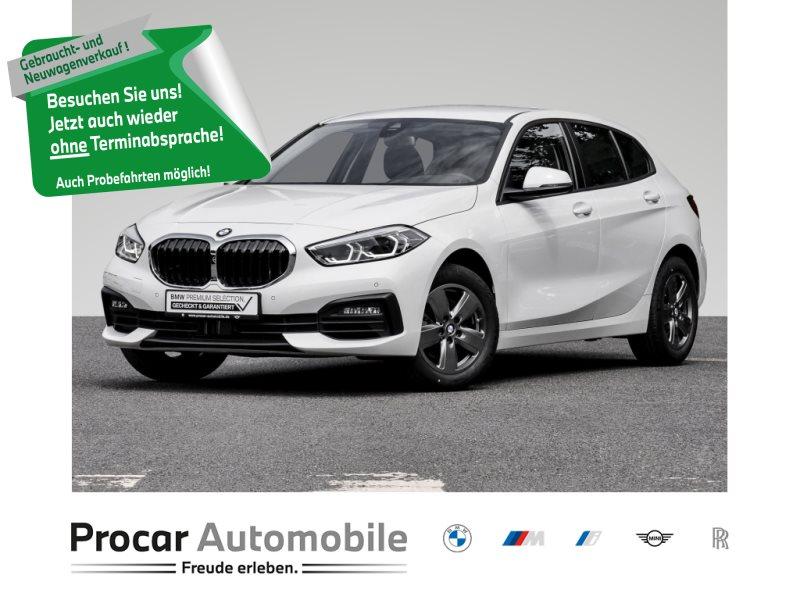 BMW 118i NAVI+LED+2-ZONEN-KLIMA+LIVE-COCKPIT-PLIS+++, Jahr 2020, Benzin