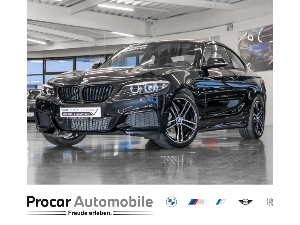 BMW 218i M-Sport Aut Nav LED Shz Klimaaut PDCv+h 18, Jahr 2020, Benzin