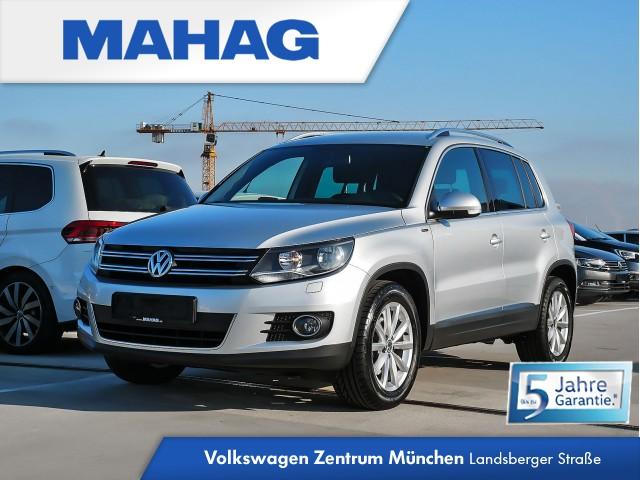 "Volkswagen Tiguan LOUNGE Sport & Style 2.0 TDI BMT 6-Gang - Rückfahrkamera - Navigationssystem ""Discover Media"" - ""Climatronic"" mit 2-Zonen Tiguan 2.0BMTSPORTFR110 TDIM6F, Jahr 2016, diesel"