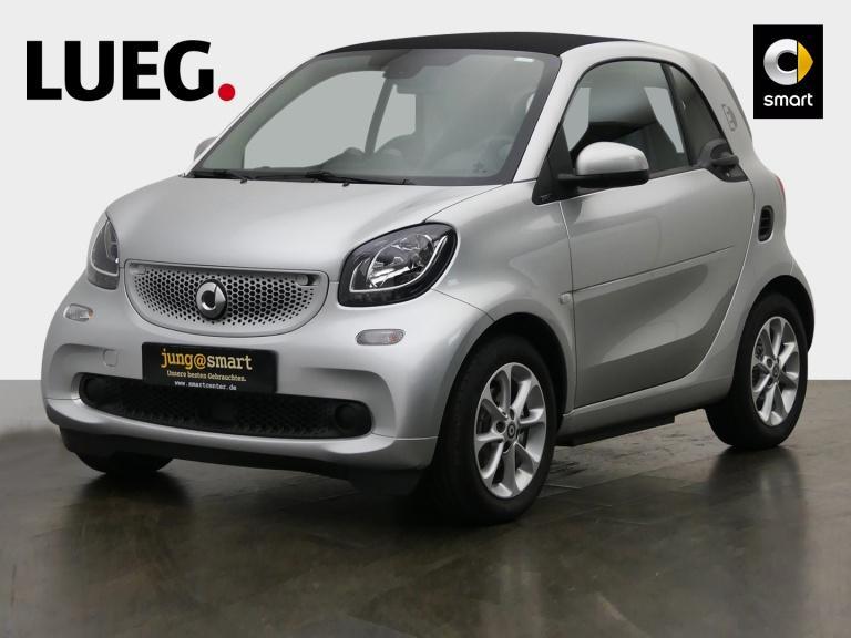 smart fortwo coupe (11.2014->), Jahr 2018, Elektro