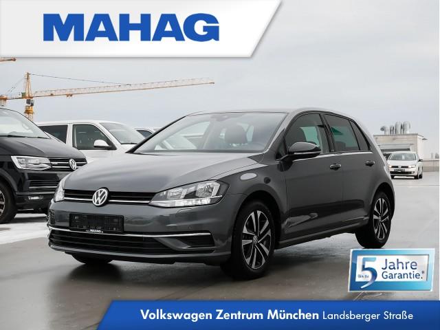 "Volkswagen Golf VII IQ.DRIVE 1.5 TSI DSG - Navigationssystem ""Discover Media"" - Stauassistent, Ausparkassistent, Spurhalteassistent ""Lane Assist"", ""Blind Spot""-Sensor, ""Emergency Assist"" - Active Info Display - ""Air Care Climatronic"" mit 2-Zonen, Jahr 2019, petrol"