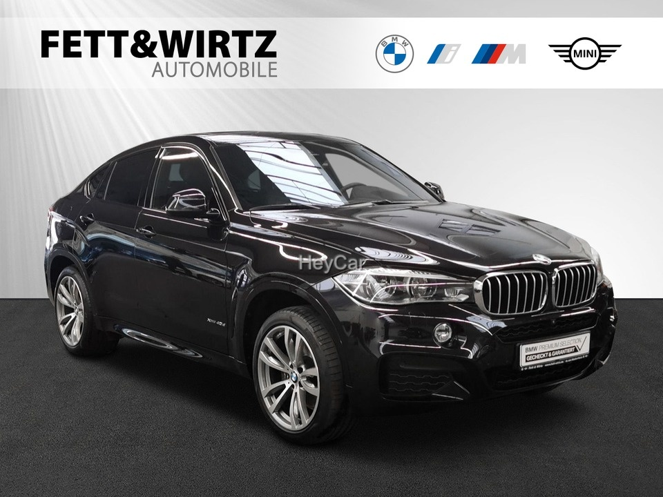 BMW X6 xDrive40d M Sportpaket Innovationsp. Glasdach, Jahr 2018, Diesel