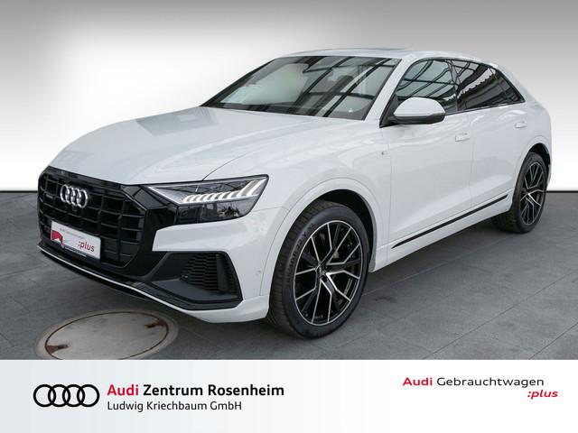 Audi Q8 S line 50 TDI quattro S tr.(Pano,B&O,Luftfw.,HuD) Navi Leder, Jahr 2019, Diesel