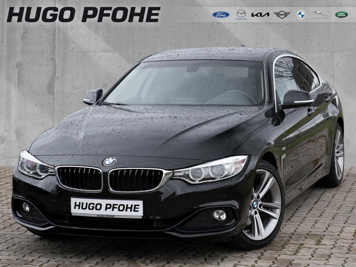 BMW 430i Gran Coupe Sport-Aut./ / AHK / Navi / SHZ, Jahr 2016, Benzin