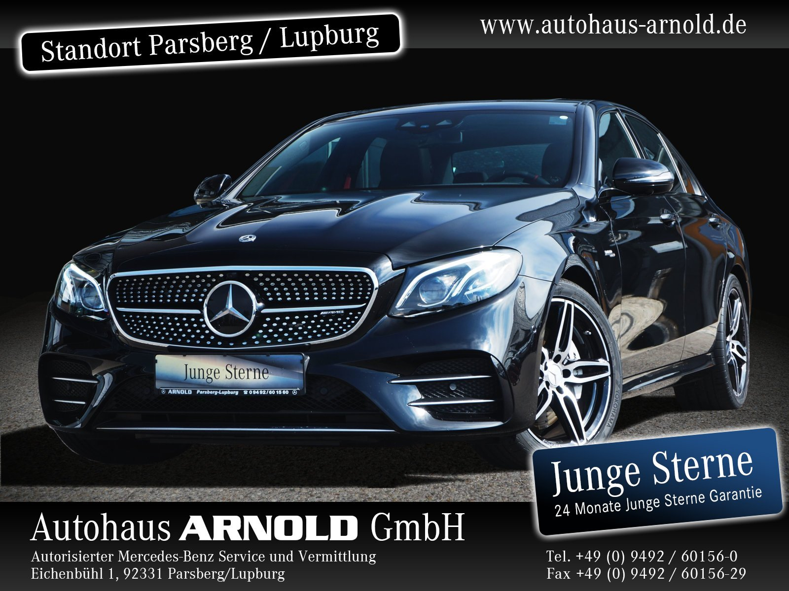 Mercedes-Benz Mercedes-AMG E 53 4M+ Fahrass.-P. Memory DAB SHD, Jahr 2019, Benzin