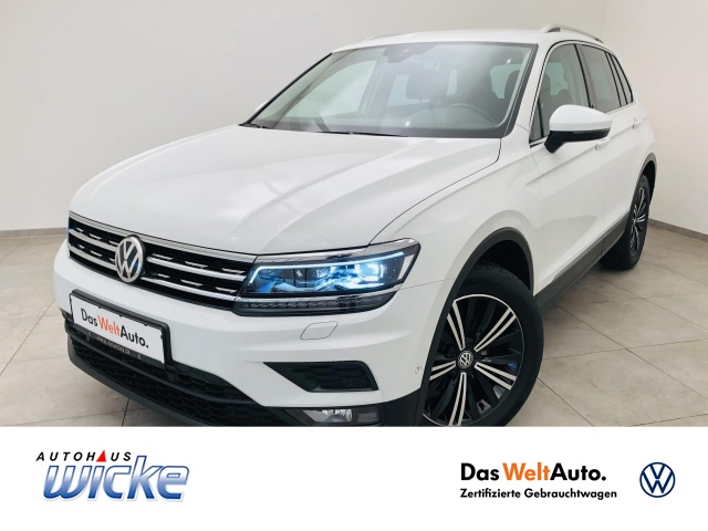 Volkswagen Tiguan 1.4 TSI DSG 4Motion SOUND Klima ACC Navi, Jahr 2017, Benzin