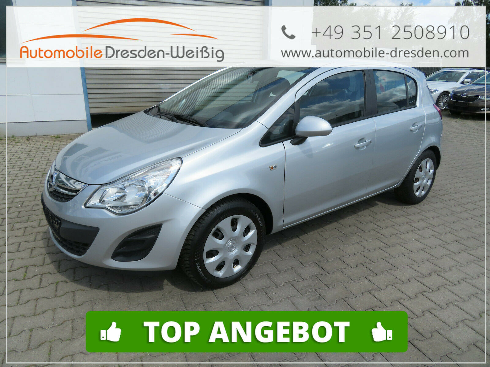 Opel Corsa 1.3 CDTI Edition*Klima*, Jahr 2013, Diesel