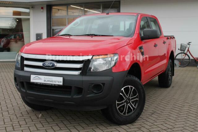 Ford Ranger Doka 4x4 XL+ZV+AHK+KLIMA, Jahr 2013, Diesel