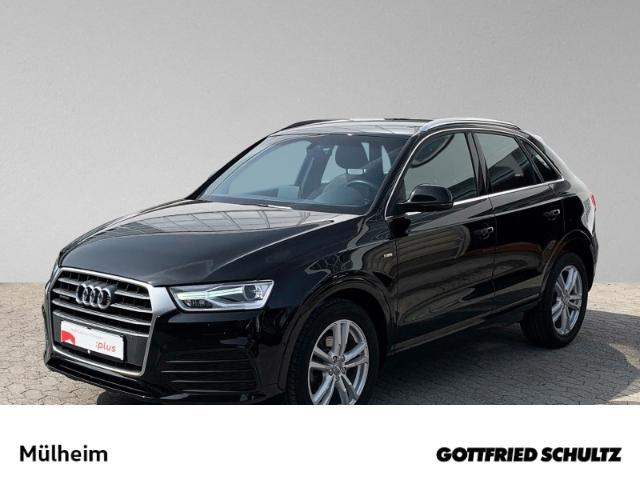 Audi Q3 2.0 TDI quattro NAVI XENON S-LINE MUFU TEMP EPH SIH, Jahr 2018, Diesel