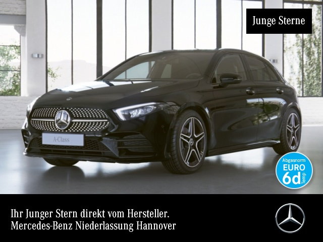 Mercedes-Benz A 180 AMG LED Night Spurhalt-Ass PTS 7G-DCT Sitzh, Jahr 2019, Benzin