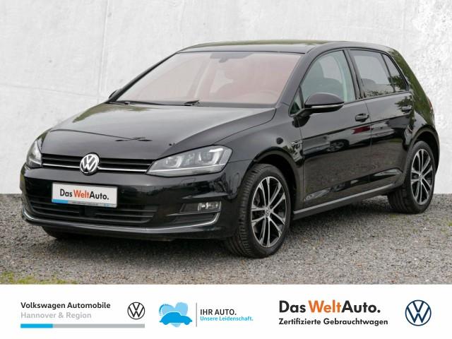 Volkswagen Golf VII 1.4 TSI DSG Lounge Xenon Panoramadach FrontAssist ACC ParkAssist, Jahr 2015, Benzin