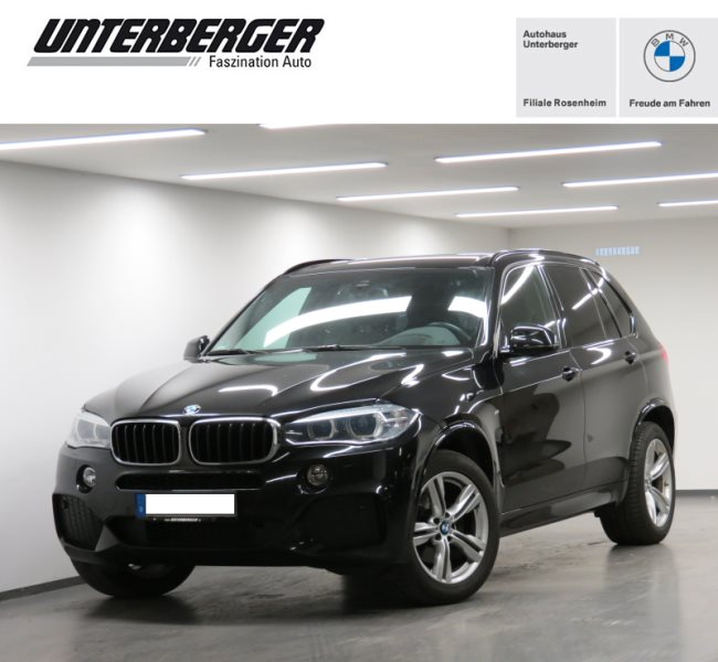 BMW X5 xDrive30d M Sportpaket Standh. HUD HiFi SH, Jahr 2016, Diesel