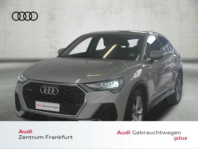 Audi Q3 Sportback 45 TFSI quattro S tronic LED Navi VC AHK, Jahr 2021, Benzin