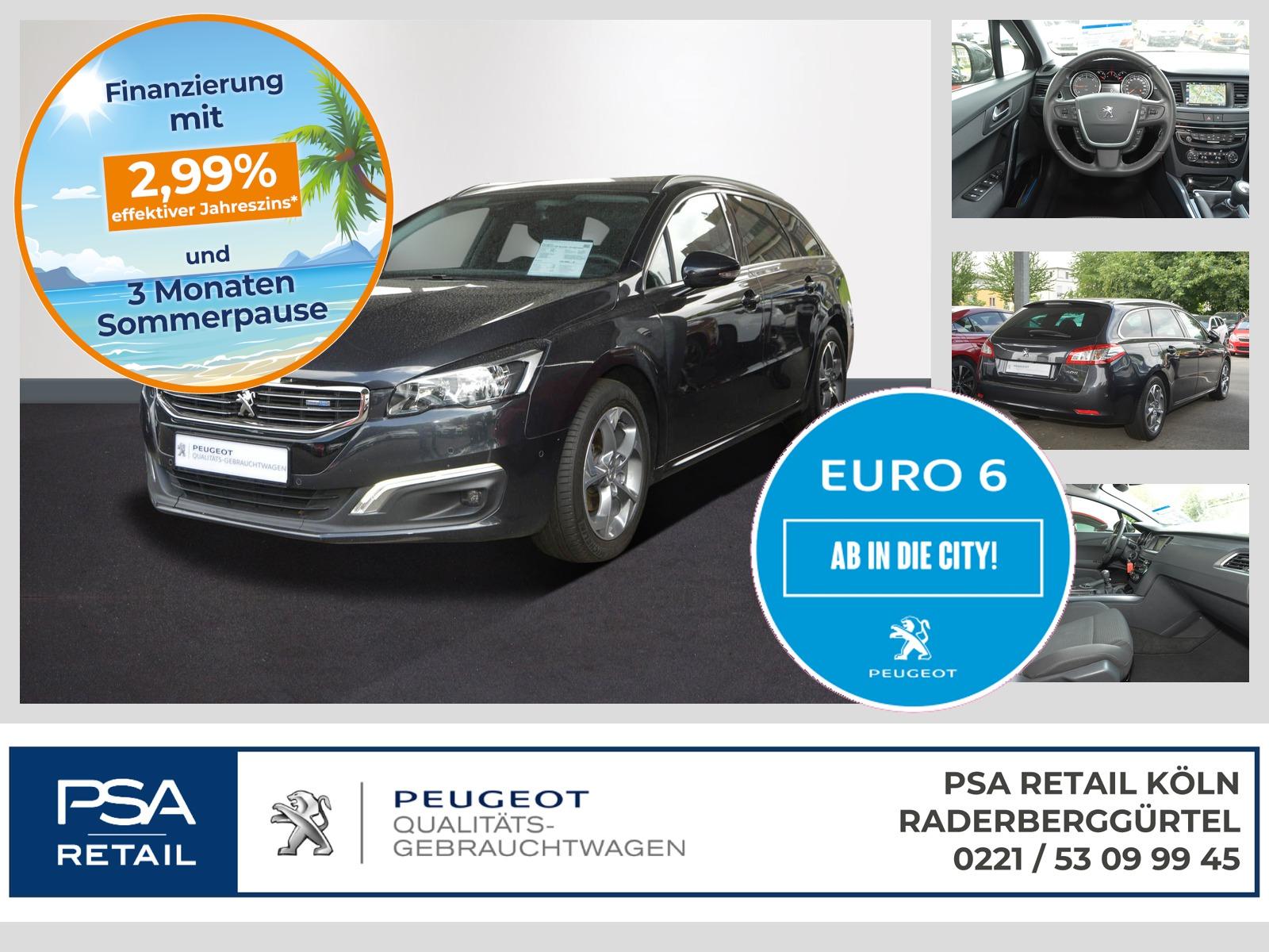 Peugeot 508 SW ACTIVE BlueHDi 120 S&S NAVI KAMERA PDC, Jahr 2017, Diesel