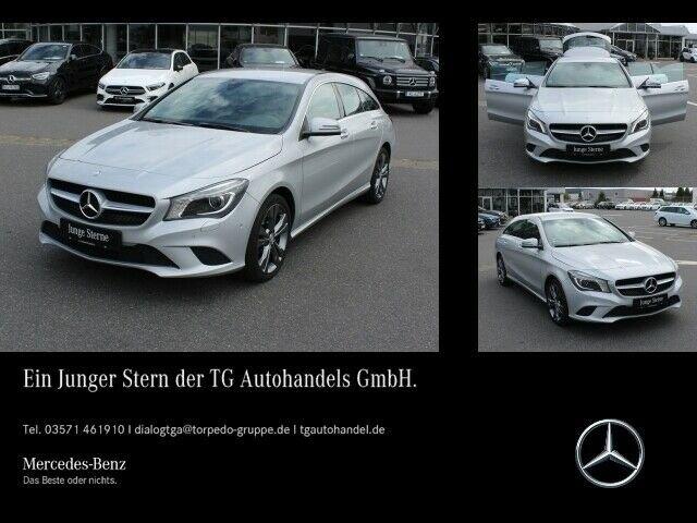 Mercedes-Benz CLA 250 SB URBAN XENON+NAVI+KAMERA+LEDER+SHZ, Jahr 2015, petrol