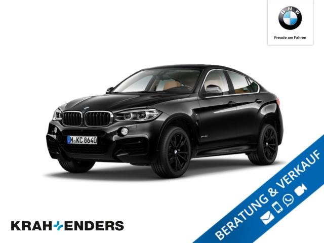 BMW X6 xDrive35i M Sport+ACC+HUD+LED+SD+Rückfahrkam., Jahr 2017, Benzin