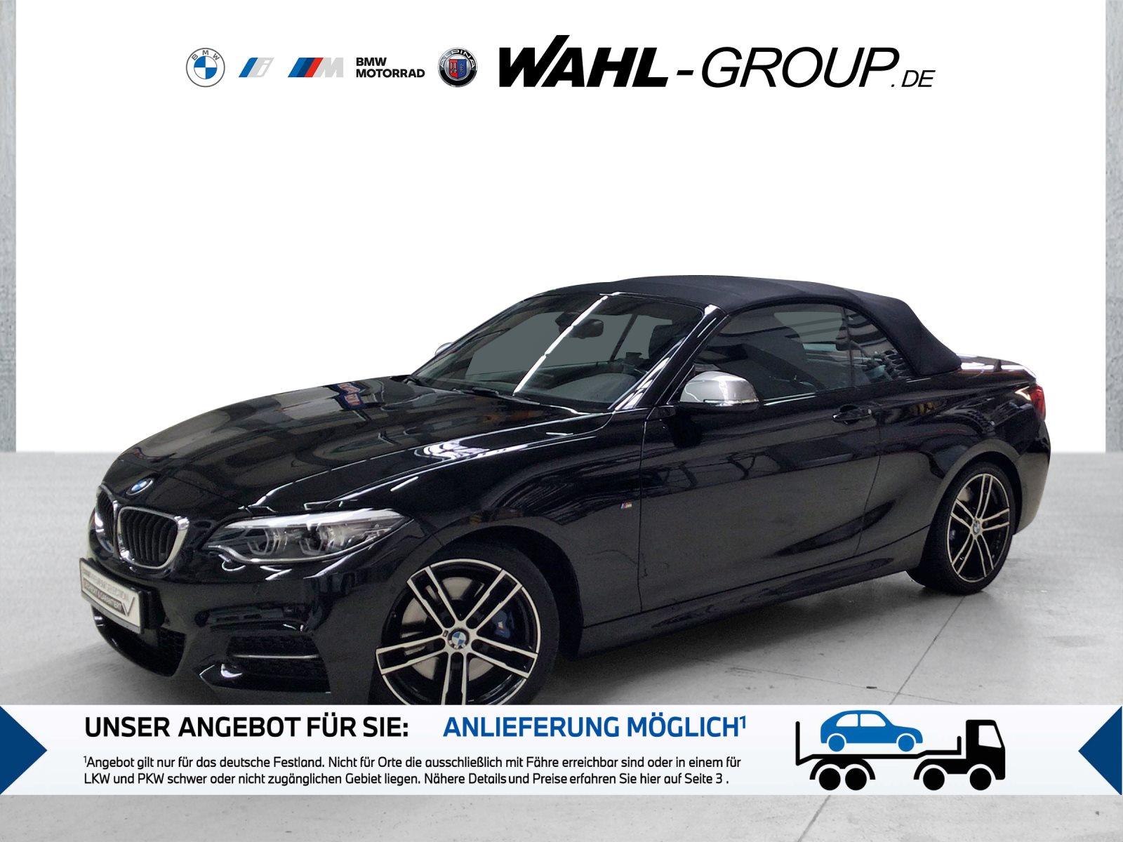 BMW M240i xDrive Cabrio HK HiFi Leder LED WLAN RFK, Jahr 2018, Benzin