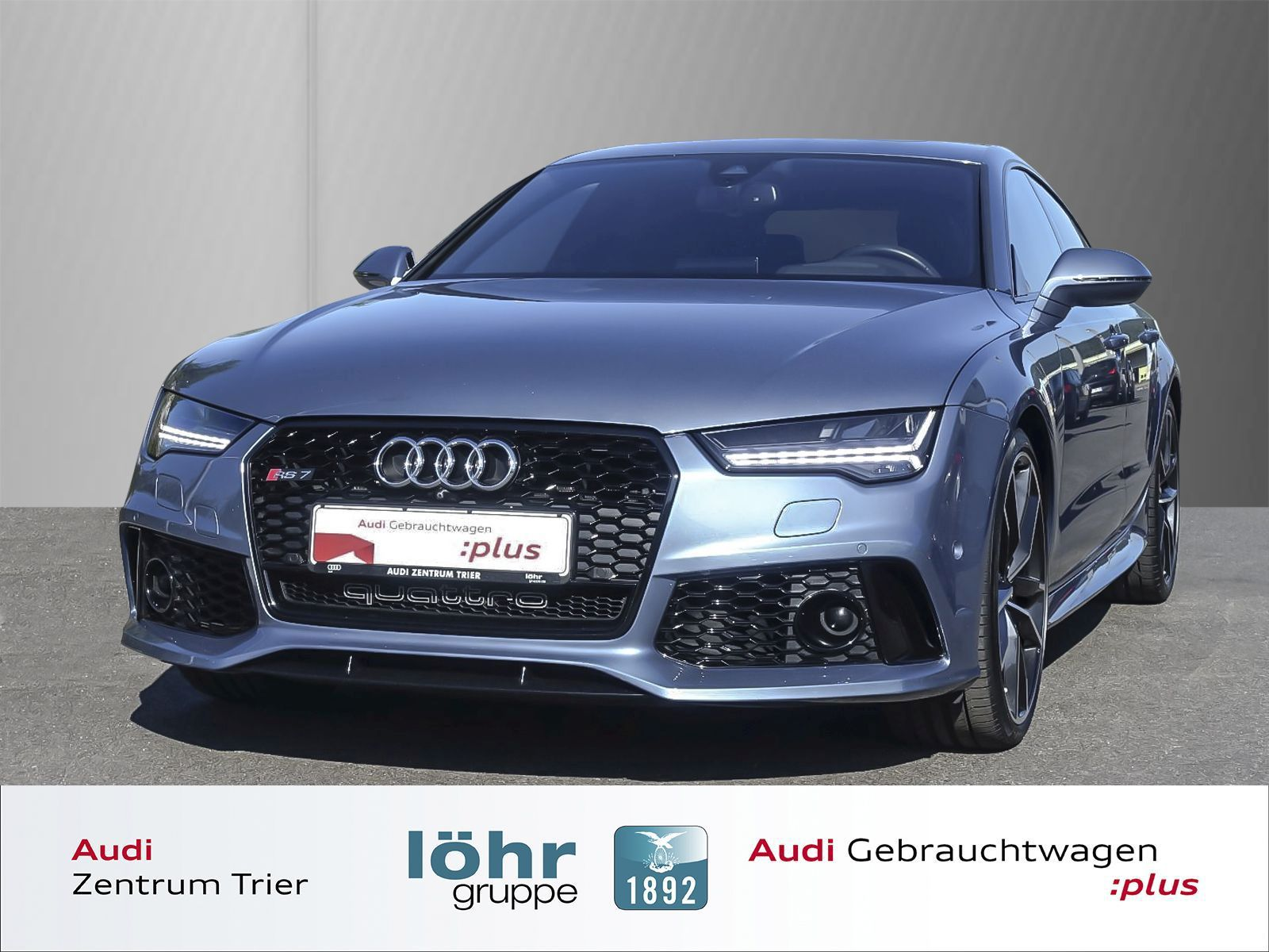Audi RS7 performance Head Up Display/SSD, Jahr 2016, petrol