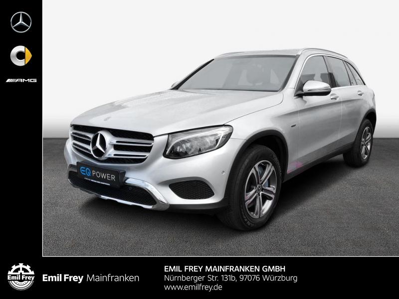 Mercedes-Benz GLC 350 e 4M AMG Exclusive AHK LED Comand, Jahr 2017, Hybrid