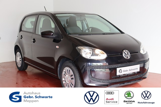 Volkswagen up! 1.0 EcoFuel move up! KLIMA+CD+AUX, Jahr 2014, Benzin