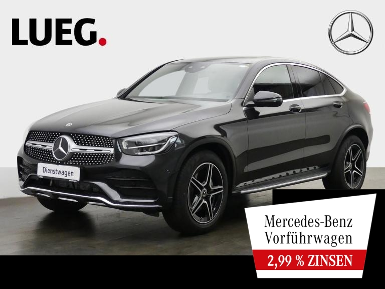 Mercedes-Benz GLC 200 4M Coupé AMG+SHD+TOTW+DIG.TACHO+LED+KAM., Jahr 2020, Benzin