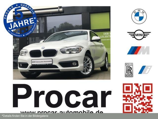 BMW 120i Advantage Klimaaut. LM PDC Sitzhzg. Vorn, Jahr 2017, Benzin