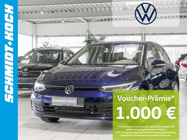 Volkswagen Golf VIII 1.5 TSi Life LED-Scheinw. AHK schwenkb., Jahr 2020, Benzin