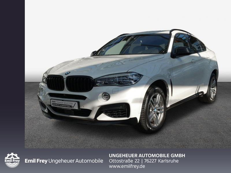 BMW X6 M50d M Sportpaket Head-Up HK HiFi DAB LED, Jahr 2016, Diesel