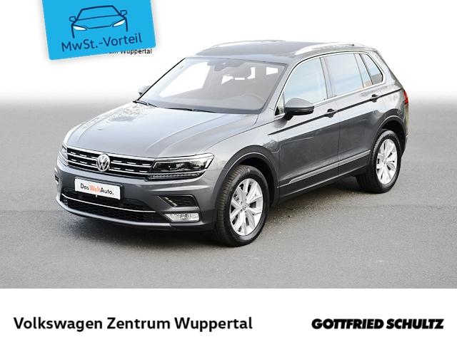 Volkswagen Tiguan 2,0 TDI HIGHLINE DSG 4M NAVI LED SHZ PDC LM, Jahr 2017, Diesel