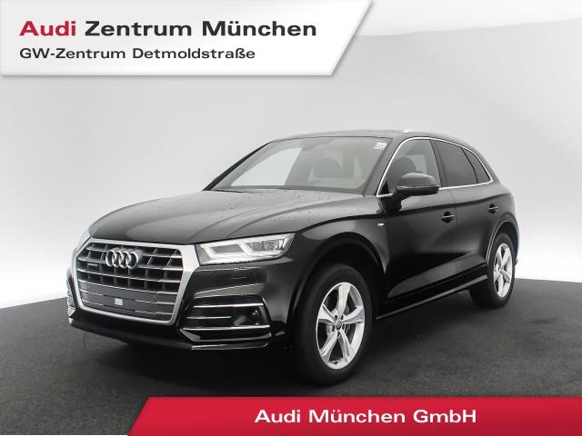 """Audi Q5 2.0 TDI qu. Sport S line 19"""" Standhz. AHK Assistenz Virtual Matrix Navi R-Kamera Teilleder S tronic, Jahr 2018, diesel"""