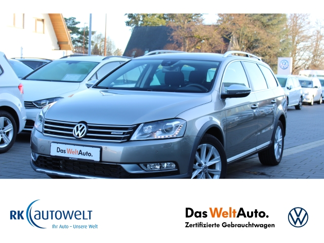Volkswagen Passat Alltrack 4Motion 2.0TDI Navi StandHZG Dyn. Kurvenlicht Rückfahrkam. Allrad, Jahr 2014, Diesel