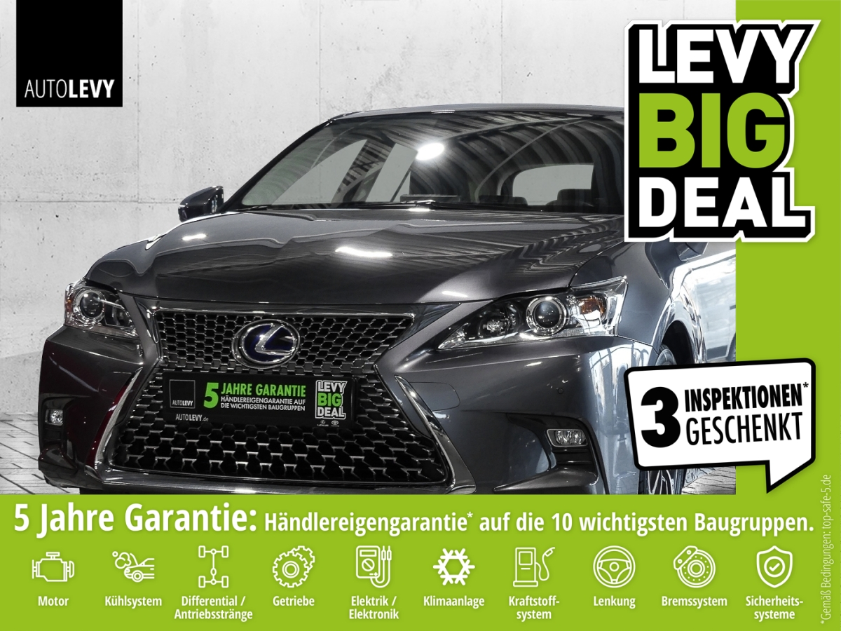 Lexus CT 200h 1.8 Hybrid Rückfahrkam*Parkassist*Klima*, Jahr 2018, Hybrid