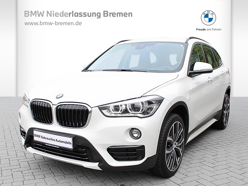BMW X1 xDrive20d Sport Line LED Navi Tempomat Shz, Jahr 2017, Diesel