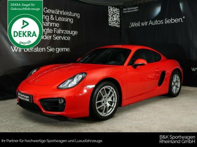 Porsche Cayman NAVI/SITZHEIZUNG/SOUND+/PDC, Jahr 2015, Benzin