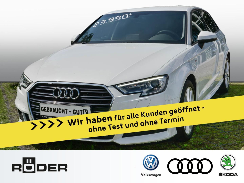 Audi A3 Sportback Sport *S Line, MMI, S-Tronic* Navi, Jahr 2018, Benzin