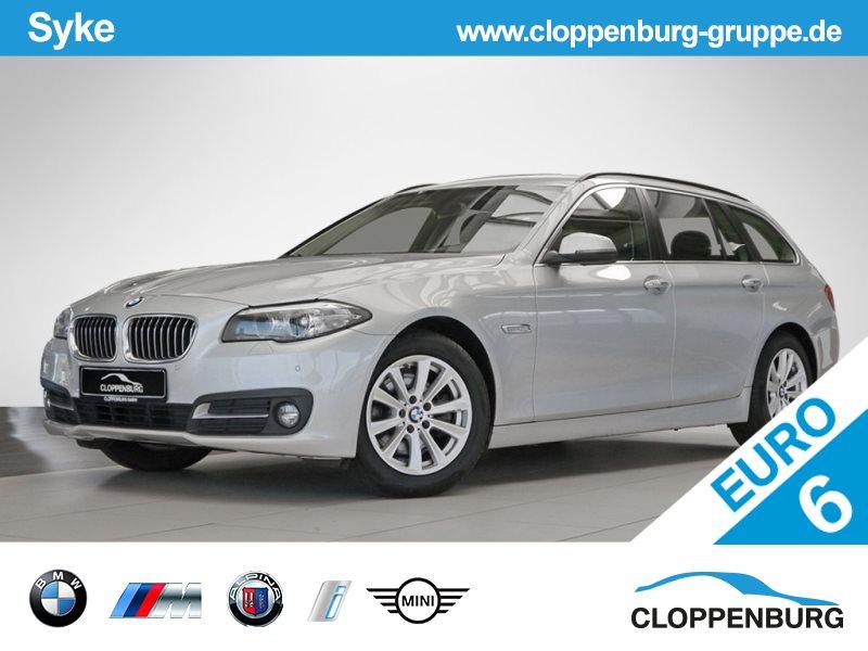 BMW 520d Touring NAVI EL.SITZE TEMPOMAT HIFI KLIMA -, Jahr 2015, Diesel
