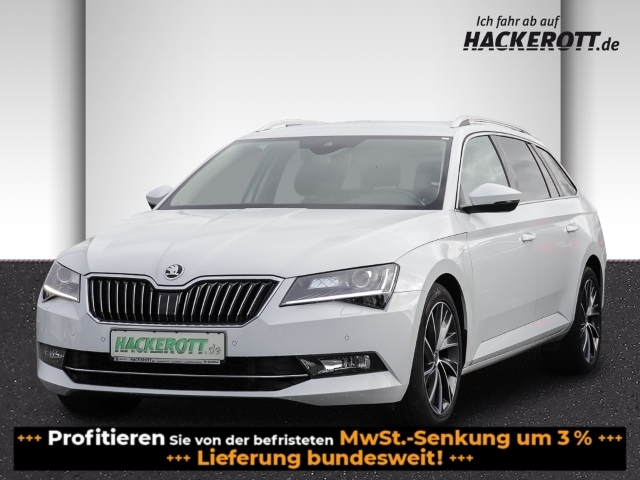 Skoda Superb Combi L&K 2.0TDI DSG Leder Navi e-Sitze Fernlichtass. el.Heckklappe PDCv+h, Jahr 2015, Diesel