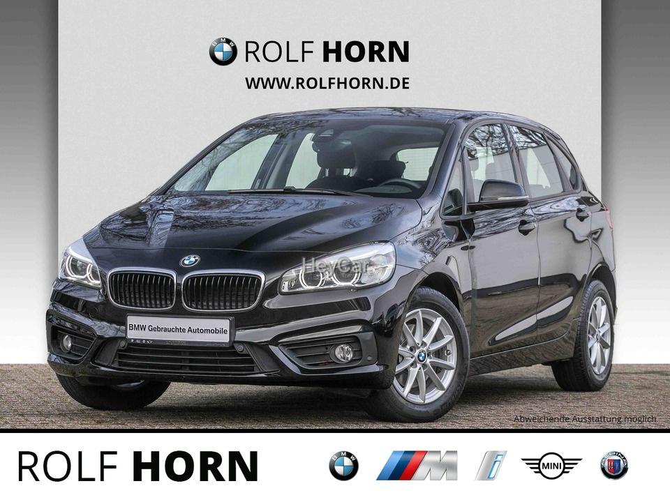 BMW 216 Active Tourer Klima PDC Sitzhzg LED EURO 6, Jahr 2017, Diesel