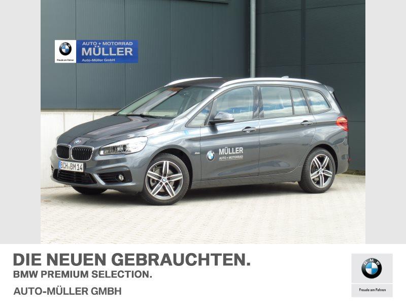 BMW 216 Gran Tourer i Sport Line HiFi LED Kamera, Jahr 2017, Benzin