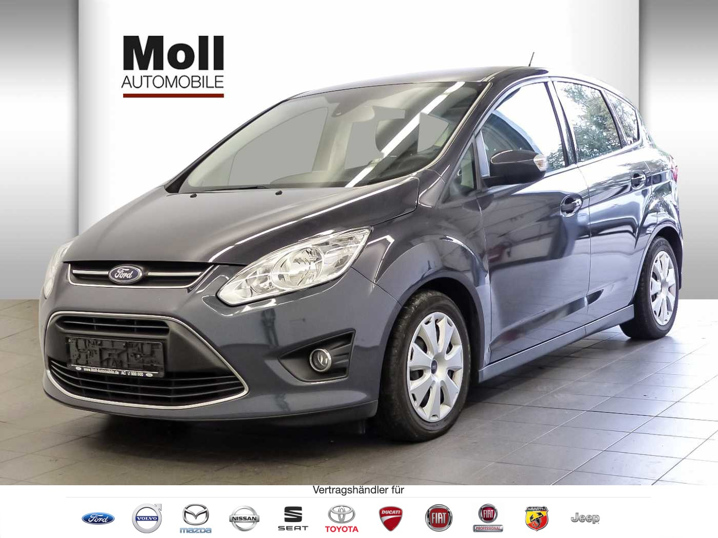 Ford C-Max 1.0 EcoBoost Trend 125PS, Navigation, AHK, PDC, Jahr 2013, Benzin