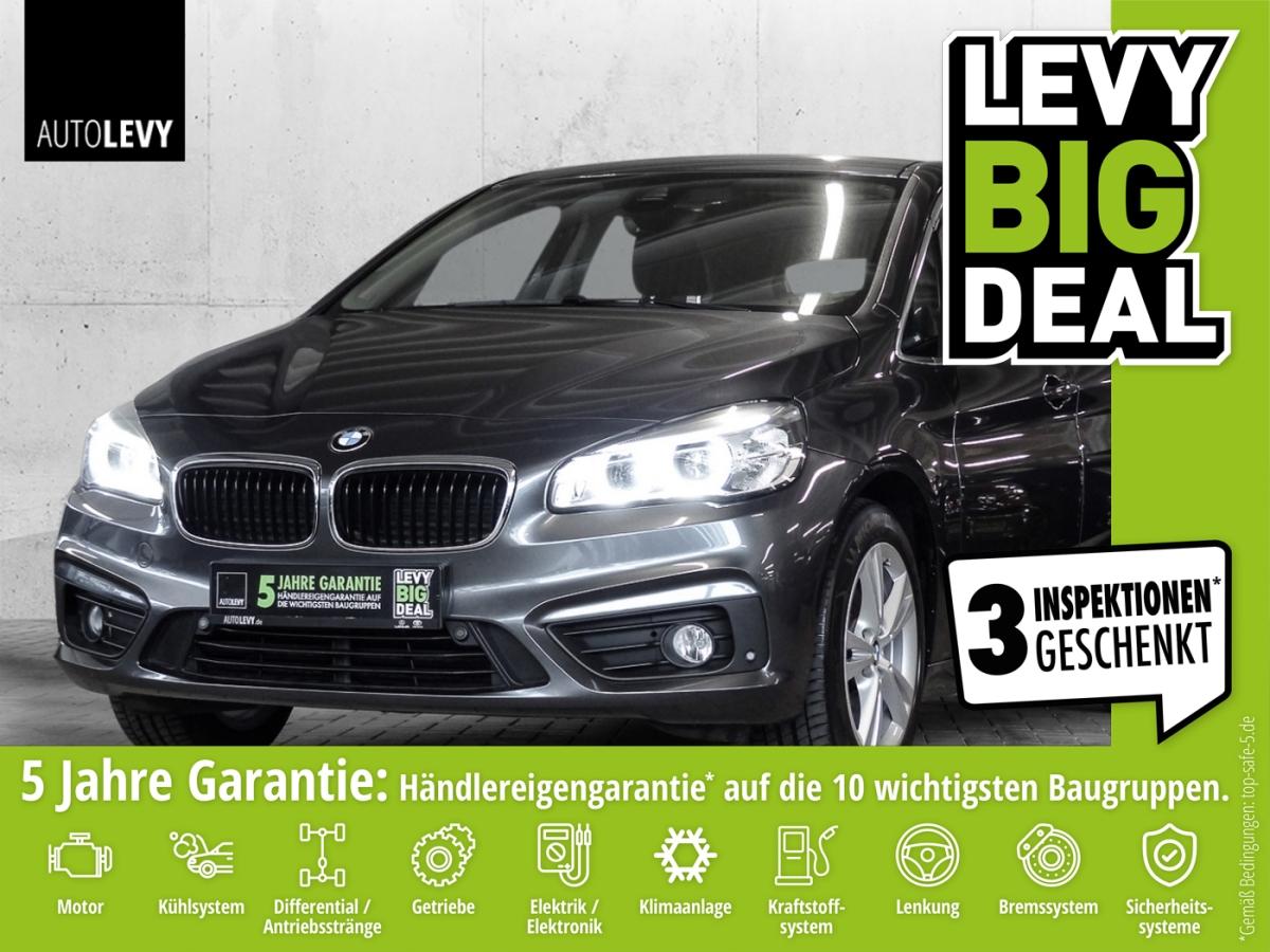 BMW 216i Active Tourer ADVANTAGE *NAVI*PDC*SHZ*WKR*, Jahr 2016, Benzin