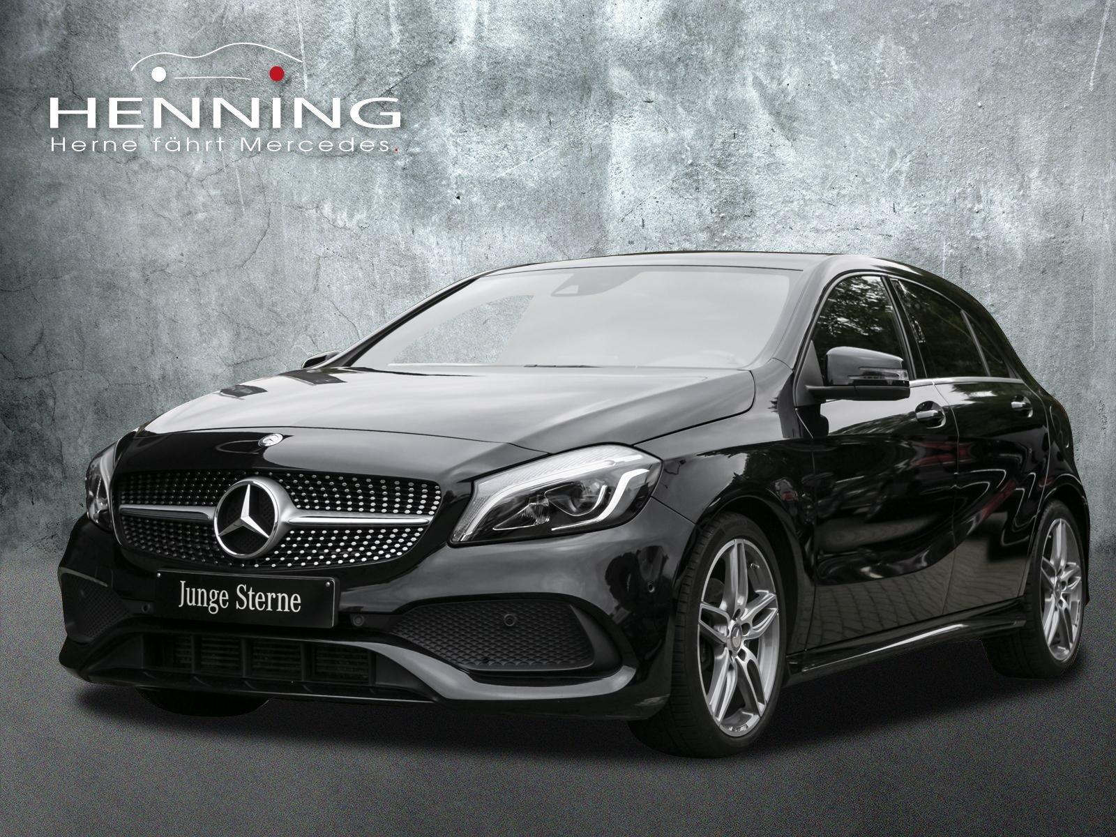Mercedes-Benz A 180 AMG 7G LED Comand Klima Tempomat CarPlay, Jahr 2016, Benzin