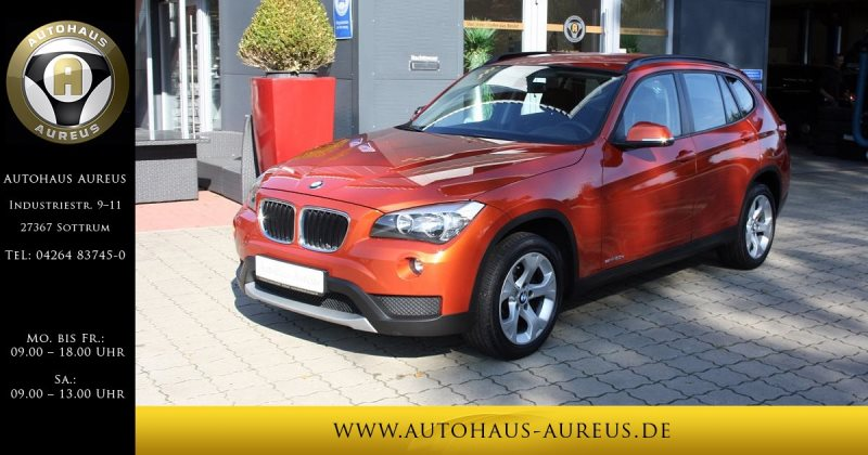BMW X1 sDrive20d AHK Tempopmat LM 17, Jahr 2012, diesel