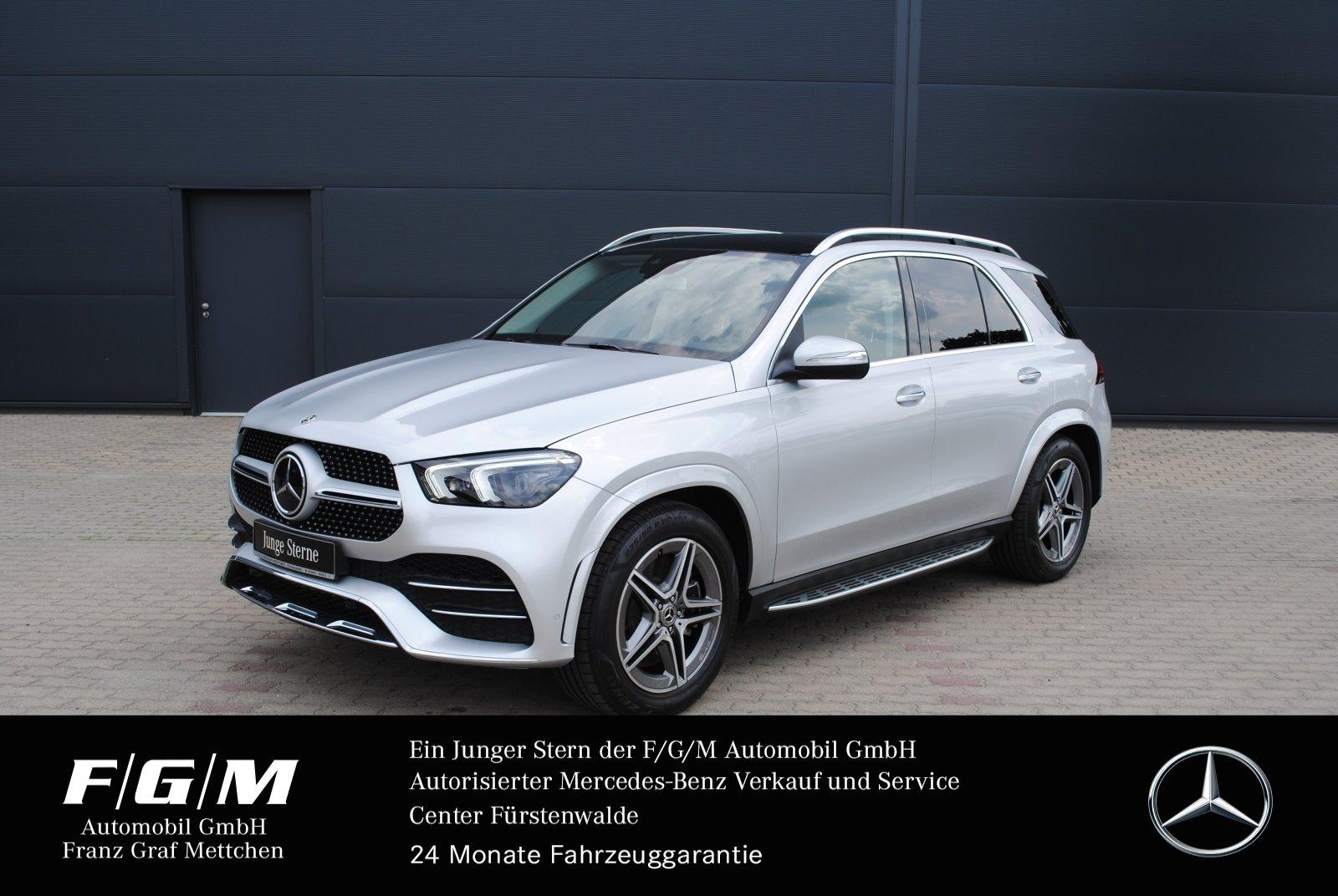 Mercedes-Benz GLE 450 AMG/MBUX/PanoD/KeyG/Memo/AHK/Distronic, Jahr 2019, Benzin