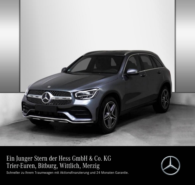Mercedes-Benz GLC 200 4M AMG Line MBUX LED 19'', Jahr 2019, petrol