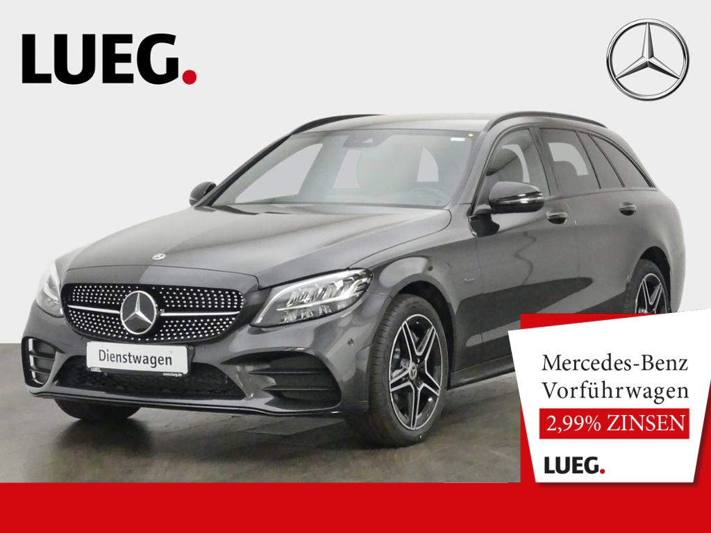 Mercedes-Benz C 300 de T AMG+NIGHT+AHK+LED+DIG.TACHO+TOTW+KAM, Jahr 2020, Hybrid_Diesel