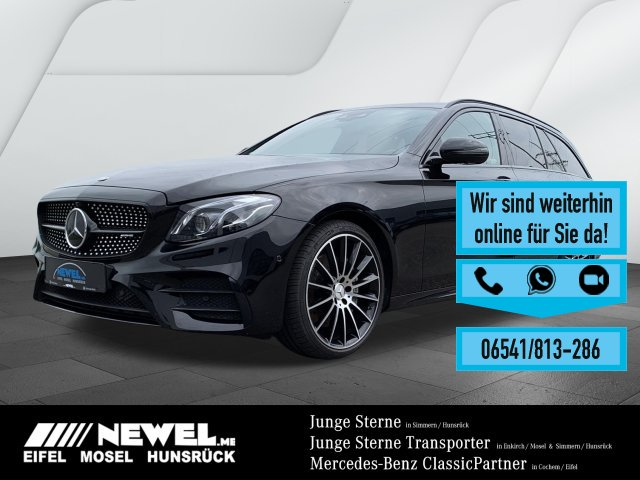 Mercedes-Benz E 43 AMG 4M T DISTR*SHD*STDHZG*MULTIB*NIGHT*MATT, Jahr 2018, Benzin