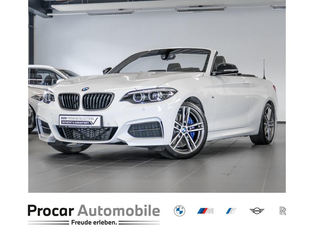 BMW M240i DAB WLAN NavProf HiFi LED Navi Prof. Shz, Jahr 2020, Benzin