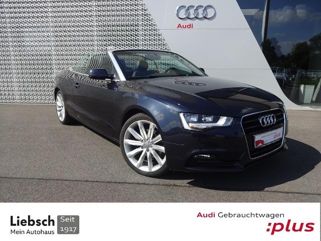 Audi A5 Cabriolet KLIMA LEDER KOPFHZG ZV SHZ SOUND GR, Jahr 2014, Diesel
